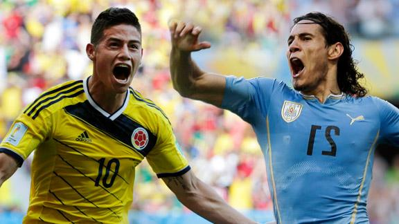 Gratis live stream Colombia Uruguay2 Gratis live stream Colombia   Uruguay (WK voetbal)