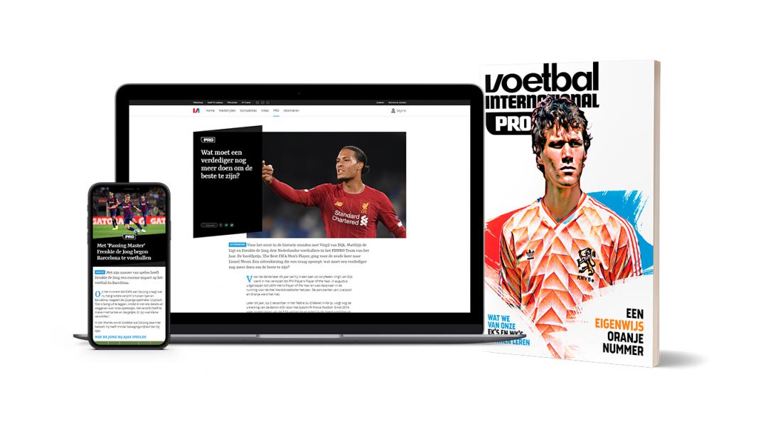 Profiteer hier van maximaal 35 korting bij een abonnement op Voetbal International en VI Pro 1080x620 Profiteer nu van maximaal 35% korting op een VI abonnement